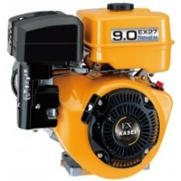 Motor vízszintes tengelyű Kasei EX27 265 cm3, 6,6 kw, 25mm x 60mm